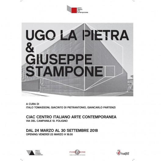 Giuseppe Stampone e Ugo La Pietra. CIAC, Foligno