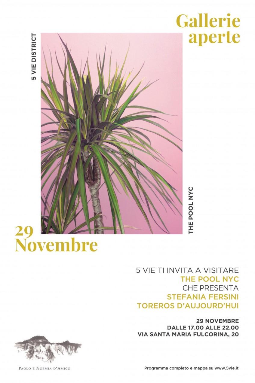 GALLERIE APERTE. 29 NOVEMBRE. 17-22