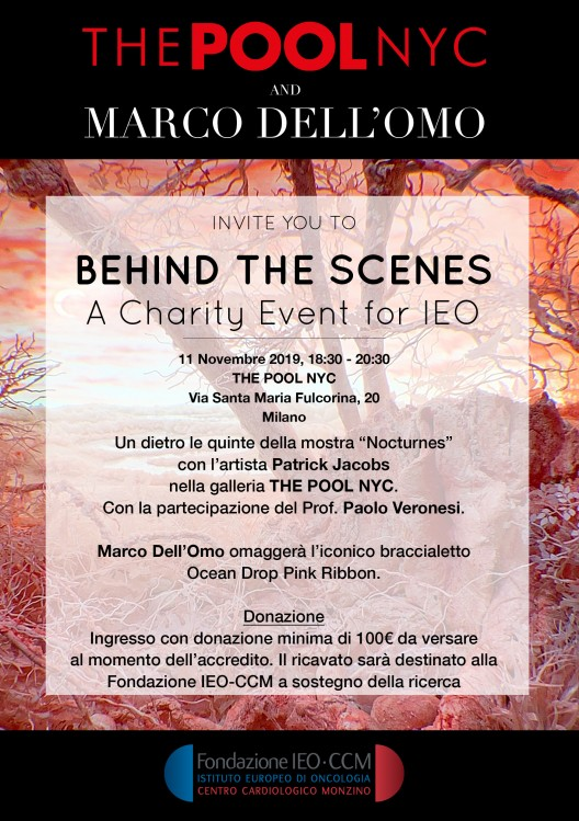 11 November, CHARITY EVENT for Istituto Europeo Oncologico IEO